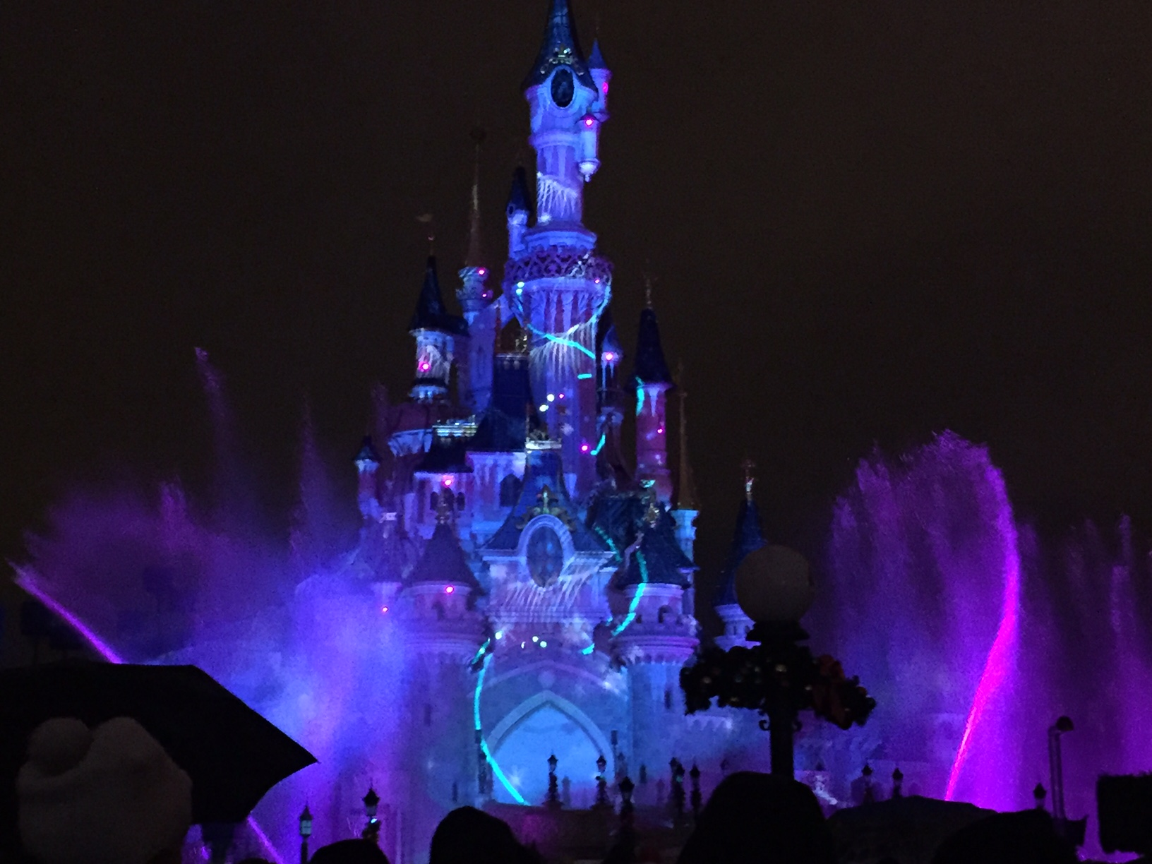 Disneyland Paris Light Show 2015